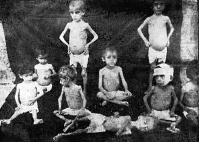 Starving Children Saved by Nea... is listed (or ranked) 1 on the list 25 Rare, Chilling Photos of the Armenian Genocide