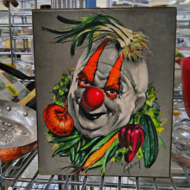 Eat Your Vegetables or He'... is listed (or ranked) 4 on the list The Most WTF Items Ever Found at Garage Sales