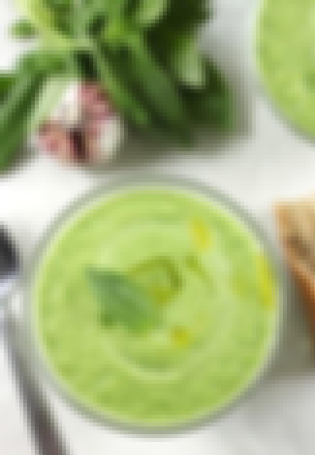 Basil Cucumber Gazpacho is listed (or ranked) 1 on the list 26 Cool Recipes for Gazpacho Lovers