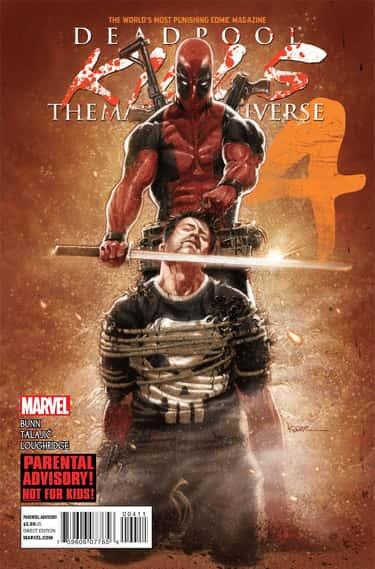 Deadpool Kills the Marvel Univ is listed (or ranked) 2 on the list The Best Deadpool Storylines, Ranked