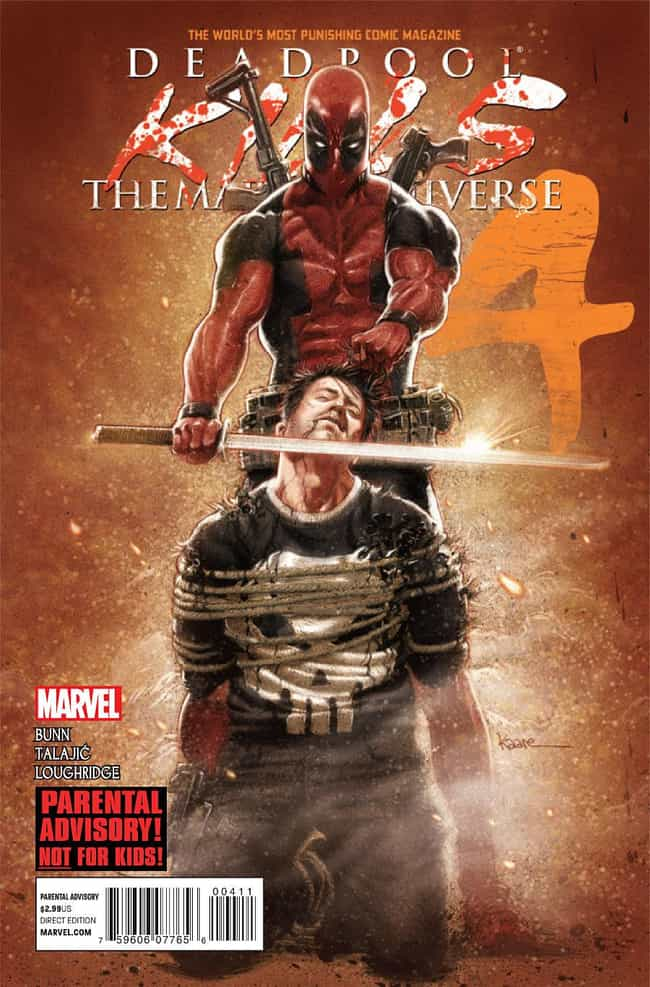 Deadpool Kills the Marvel Univ... is listed (or ranked) 2 on the list The Best Deadpool Storylines, Ranked