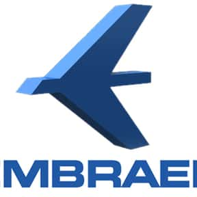 Embraer is listed (or ranked) 22 on the list List of Aviation Companies