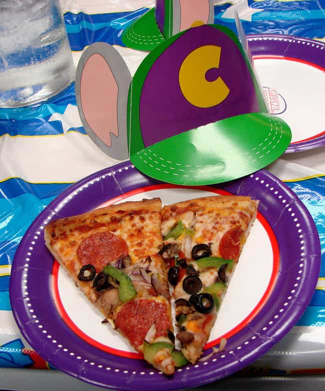 There's Pizza Because It&#... is listed (or ranked) 2 on the list 25 Things You Didn't Know About Chuck E. Cheese's