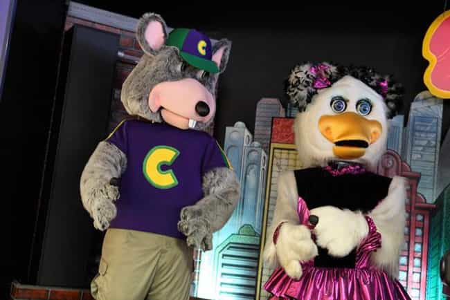 The Animatronic Characters Wer... is listed (or ranked) 3 on the list 25 Things You Didn't Know About Chuck E. Cheese's