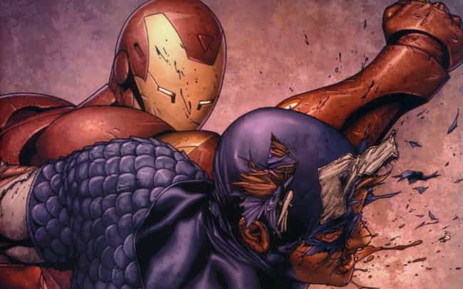 Civil War is listed (or ranked) 1 on the list The Biggest Brawls Between Captain America and Iron Man