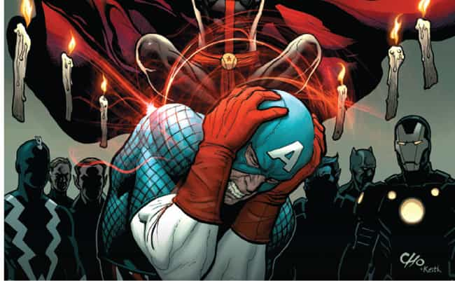 Avengers Vol. 5 #29 is listed (or ranked) 2 on the list The Biggest Brawls Between Captain America and Iron Man