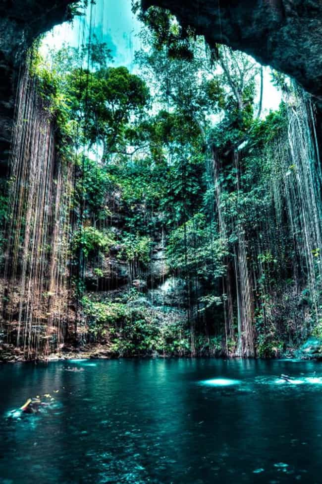Grutas Tolantongo in Mex... is listed (or ranked) 1 on the list 40 Photos of Fantasy Landscapes That Really Exist