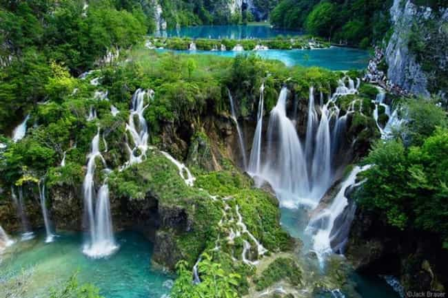 Plitvice Lakes in Croati... is listed (or ranked) 4 on the list 40 Photos of Fantasy Landscapes That Really Exist
