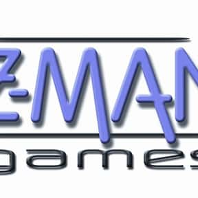 Z-MAN is listed (or ranked) 25 on the list List of Board Game Companies