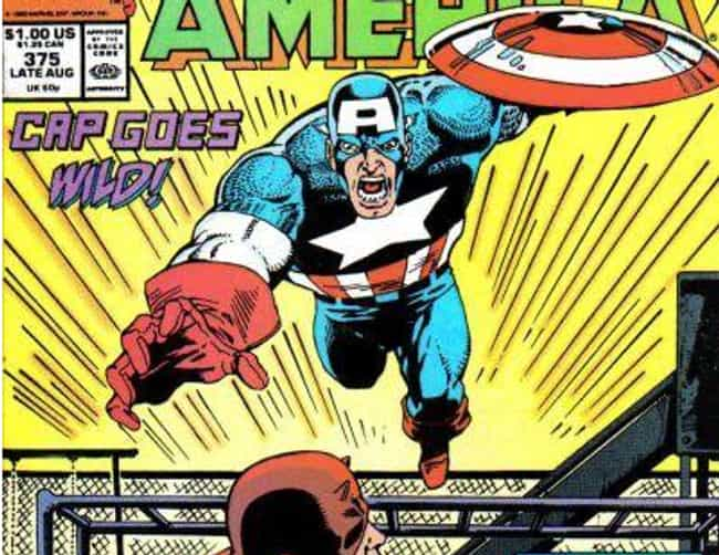 That Time He Got High an... is listed (or ranked) 3 on the list 11 Times Captain America Was a D*ck in Comics