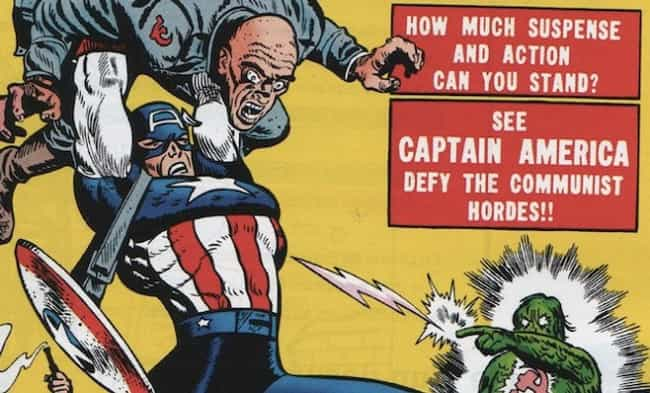 That Time He Punched Min... is listed (or ranked) 4 on the list 11 Times Captain America Was a D*ck in Comics