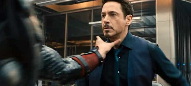 Tony Keeps Getting Choked Out is listed (or ranked) 4 on the list Fun Facts to Know About Avengers: Age of Ultron
