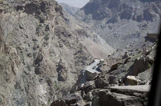 Kabul-to-Jalalabad, Afghanista... is listed (or ranked) 2 on the list The Most Dangerous Roads in the World