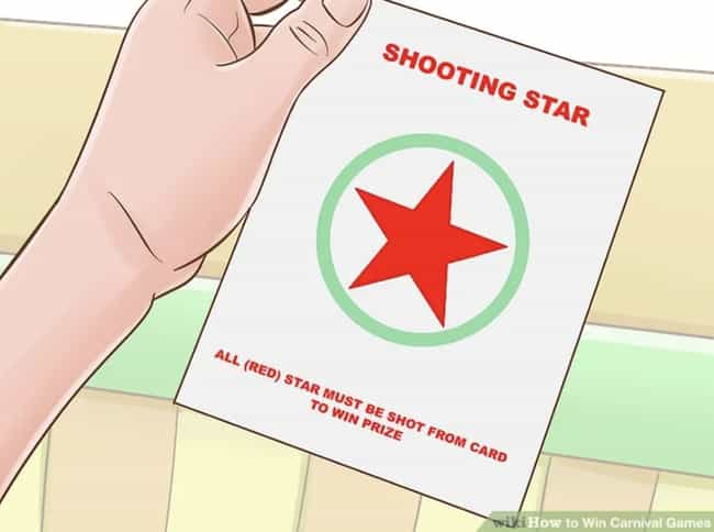 Shoot Around The Star, N... is listed (or ranked) 3 on the list The Best Ways To Beat Carnival Games