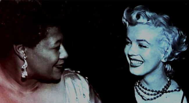 Monroe Helped Ella Fitzg... is listed (or ranked) 3 on the list 26 Things You Didn't Know About Marilyn Monroe