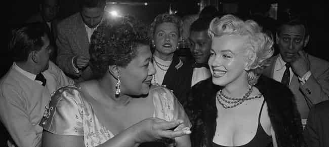Monroe Helped Ella Fitzgerald ... is listed (or ranked) 3 on the list 26 Things You Didn't Know About Marilyn Monroe
