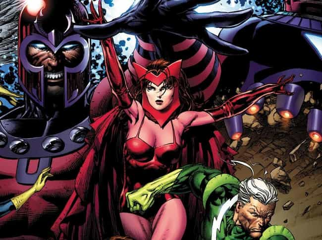 Her Dad Is Magneto is listed (or ranked) 1 on the list 20 Things You Should Know About Scarlet Witch