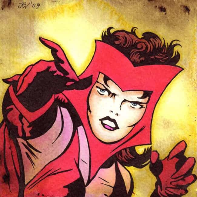 She Was Created by Stan Lee an... is listed (or ranked) 1 on the list 20 Things You Should Know About Scarlet Witch