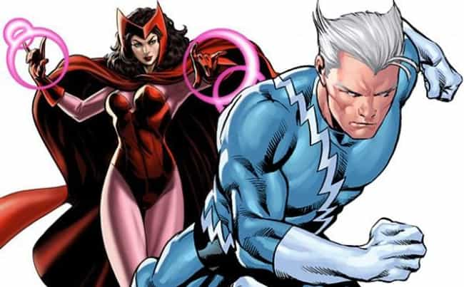 Quicksilver Is Her Twin Brothe... is listed (or ranked) 4 on the list 20 Things You Should Know About Scarlet Witch