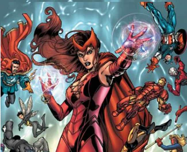 She Completely Disassembled th... is listed (or ranked) 2 on the list 20 Things You Should Know About Scarlet Witch