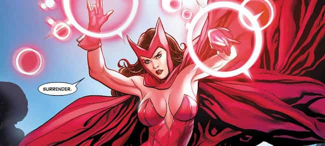 She Really Is a Witch is listed (or ranked) 3 on the list 20 Things You Should Know About Scarlet Witch