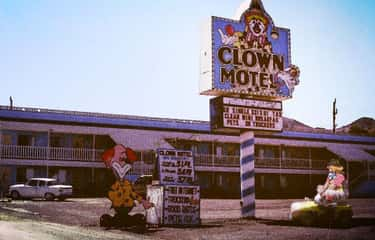 The Clown Motel - Tonopah, Nev is listed (or ranked) 1 on the list Creepy Motels We'd Worry About Spending A Night In