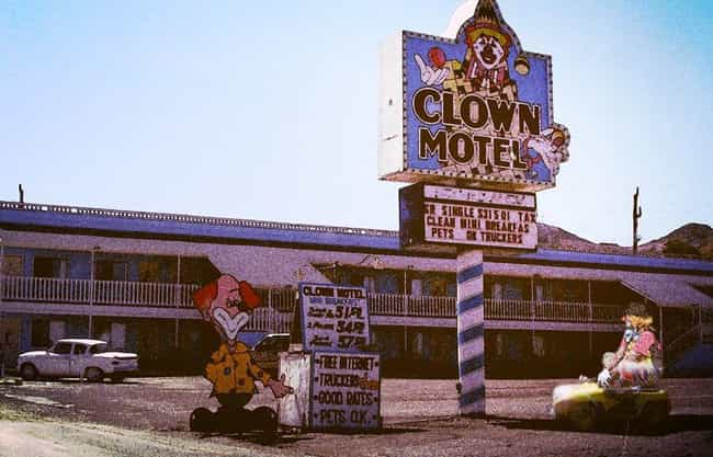 The Clown Motel - Tonopah, Nev... is listed (or ranked) 1 on the list You Will Definitely Be Murdered in These Motels