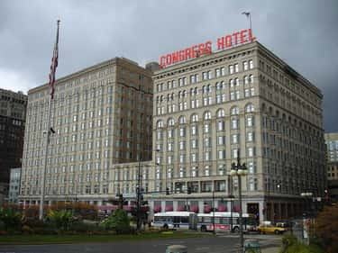 Congress Plaza Hotel - Chicago is listed (or ranked) 2 on the list Creepy Motels We'd Worry About Spending A Night In