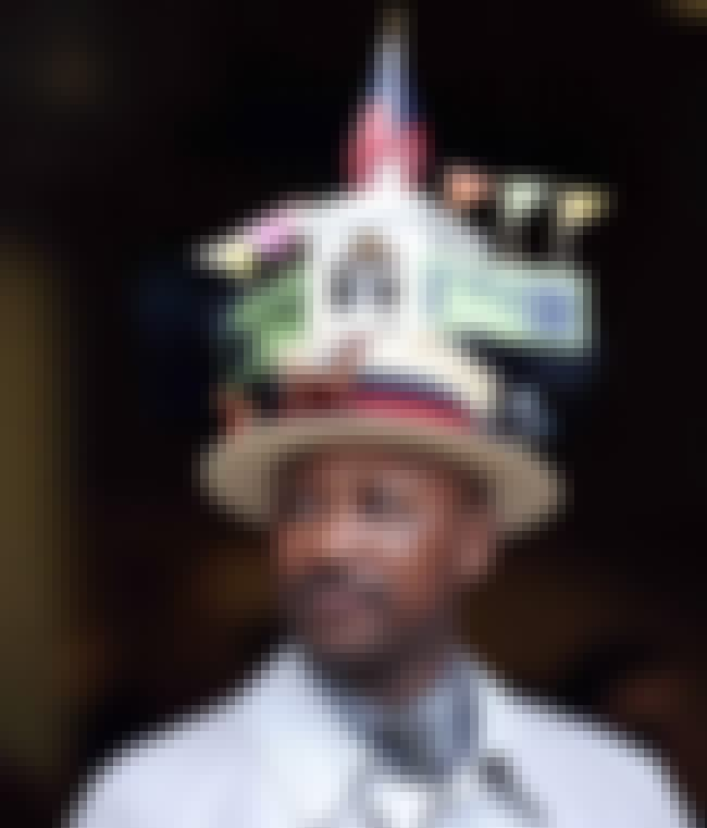 "The ""Actually Pretty Pimp ... is listed (or ranked) 3 on the list The Weirdest Kentucky Derby Hats Ever Caught on Camera"