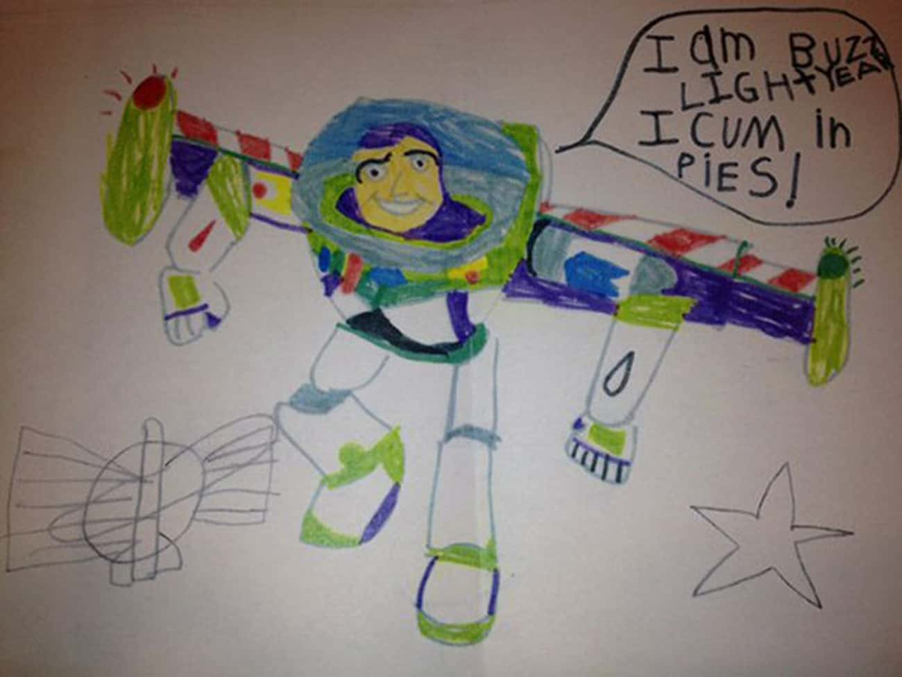 The FDA Probably Has Something is listed (or ranked) 4 on the list 16 Unintentionally Hilarious Kids' Drawings