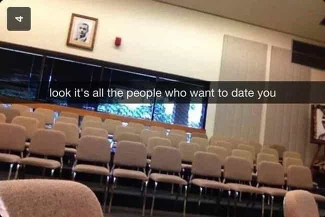 The Tinder Truth is listed (or ranked) 1 on the list 24 Epic Snapchat Insults