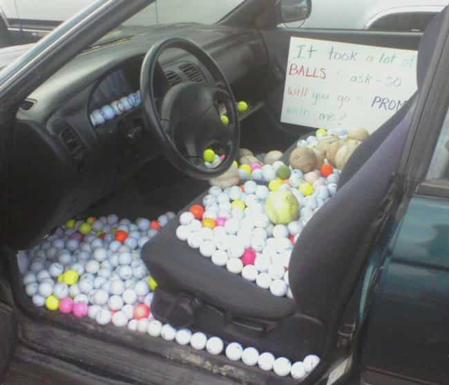 """The """"You'll Be Find... is listed (or ranked) 2 on the list The Most Ridiculous, Over-the-Top Promposals"""