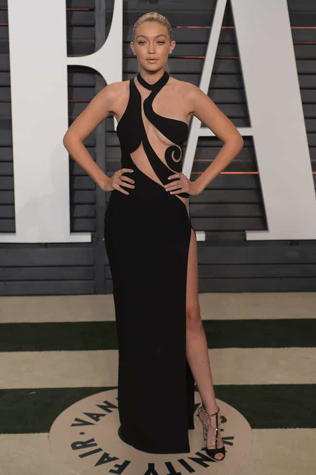 Gigi Hadid's Birthmark W... is listed (or ranked) 4 on the list The Most Shockingly Over-the-Top Celebrity Sheer Dresses