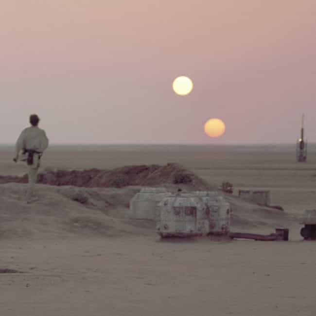 Star Wars - Tatooine is listed (or ranked) 4 on the list Film Sets You Can Plan Your Vacation Around