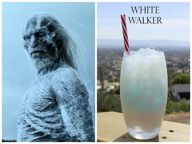 White Walker is listed (or ranked) 3 on the list Game of Thrones Cocktails
