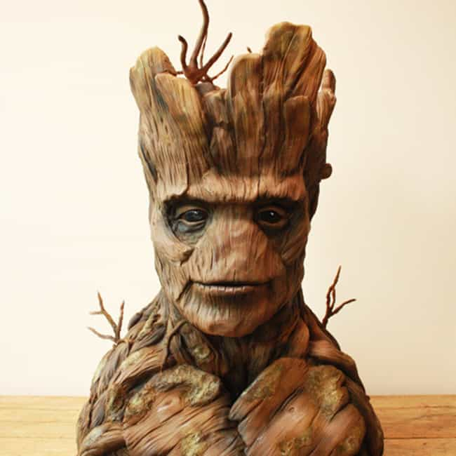 Groot Cake is listed (or ranked) 1 on the list 40 of the Internet's Most Insane Cakes