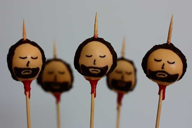 Make Ned Stark Cake Pops is listed (or ranked) 4 on the list Epic Ideas for Your Next Game of Thrones Party