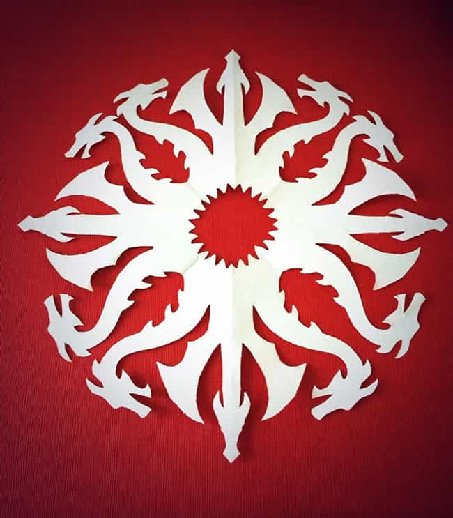 Create DIY Paper House Sigil S... is listed (or ranked) 4 on the list Epic Ideas for Your Next Game of Thrones Party