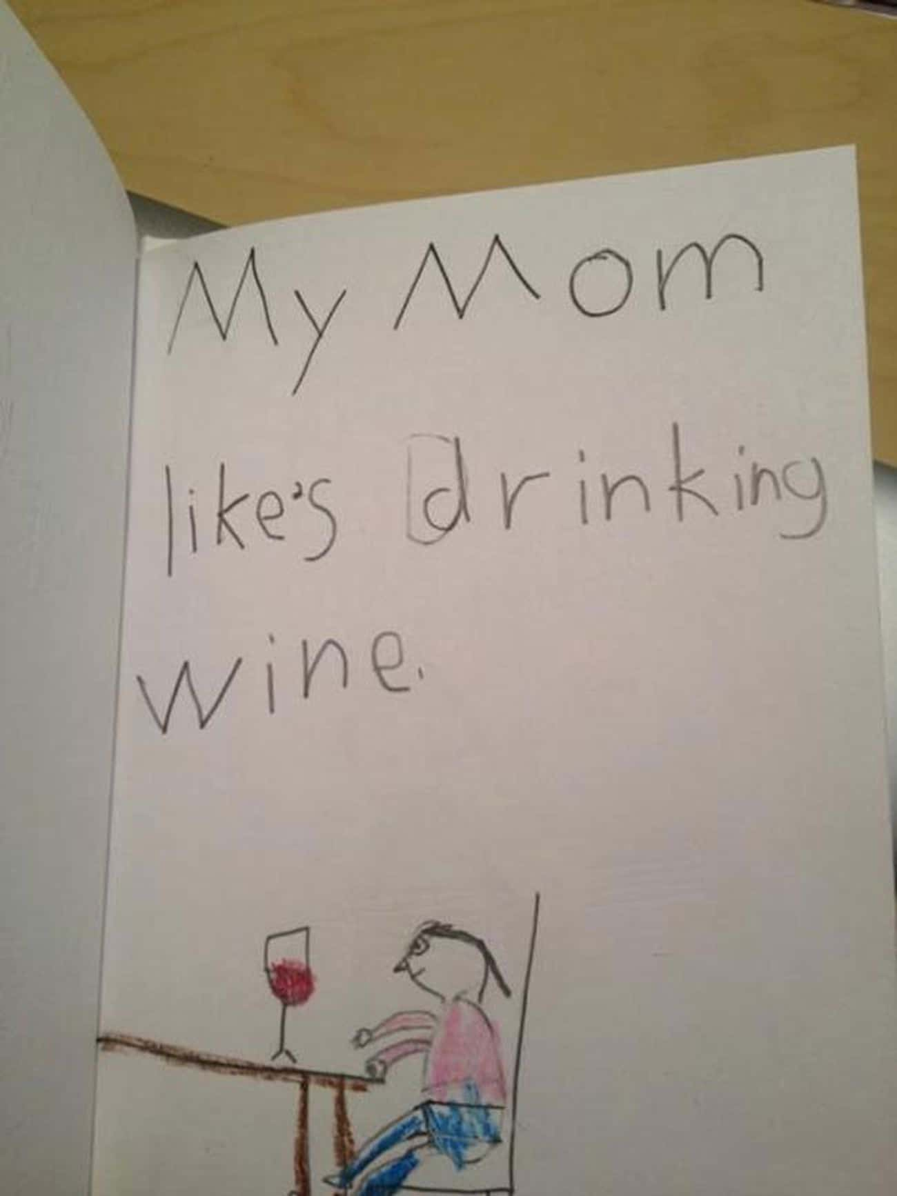 The 'Parent Teacher Conference is listed (or ranked) 1 on the list The Best Accidentally Funny Mother's Day Cards