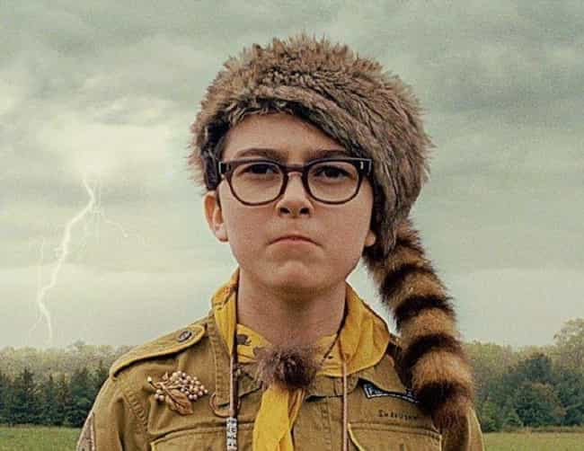 Sam is listed (or ranked) 3 on the list Wes Anderson's Child Actors: Where Are They Now?