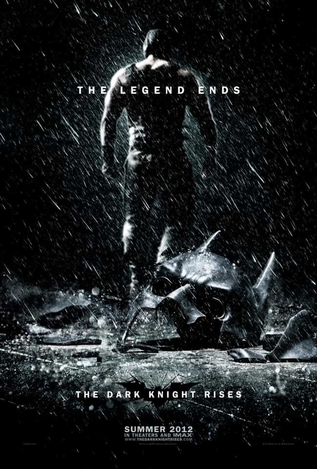 The Dark Knight Rises is listed (or ranked) 2 on the list The Best Superhero Movie Posters