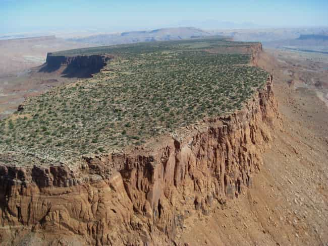 Mesa is listed (or ranked) 2 on the list A Guide to the Geological Formations Around You