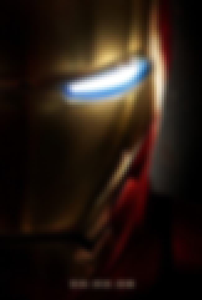 Iron Man is listed (or ranked) 3 on the list The Best Superhero Movie Posters