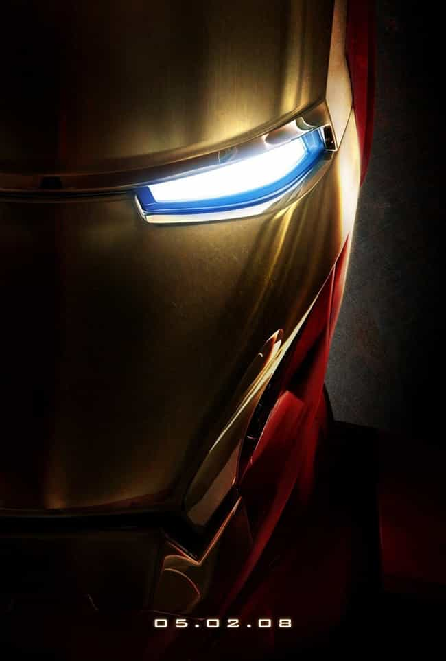 Iron Man is listed (or ranked) 4 on the list The Best Superhero Movie Posters
