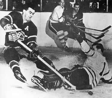Maurice Richard Scores 50 Goal is listed (or ranked) 2 on the list The Most Important Hockey Goals of All Time