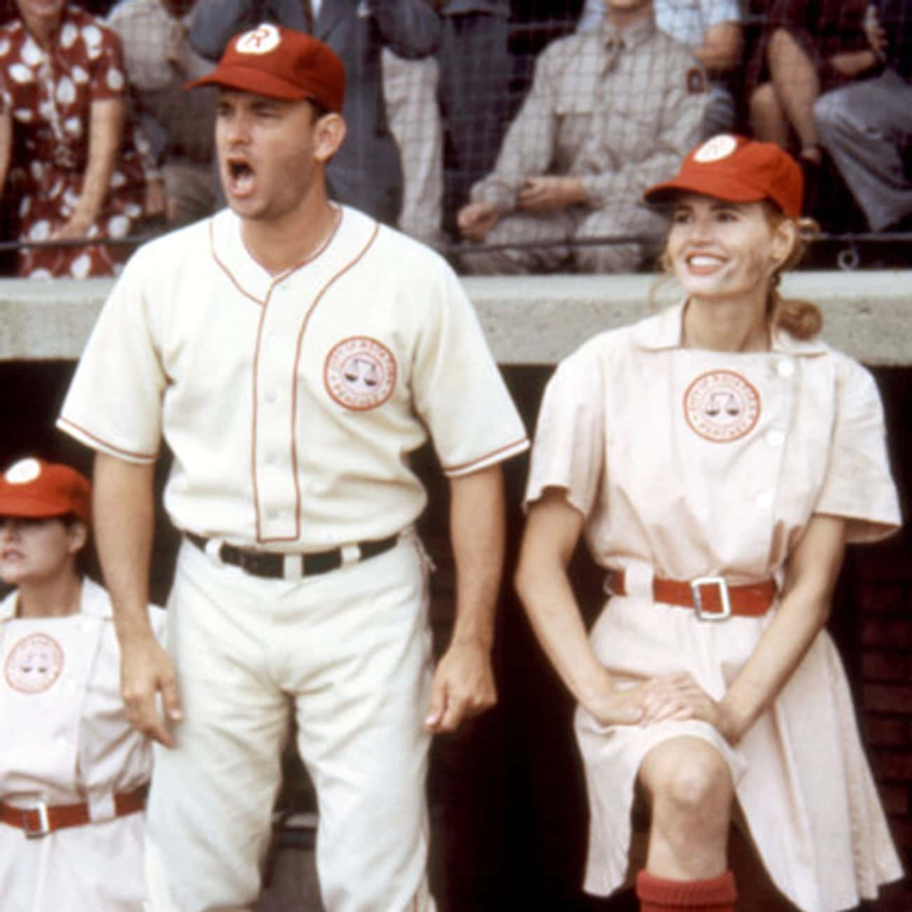 Jimmy and Dottie - A League of is listed (or ranked) 3 on the list The Best Male/Female Platonic Friendships in Film