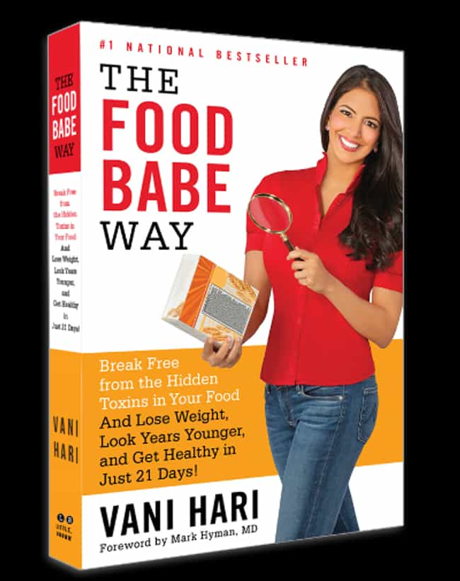 """""""The Food Babe Way"""" is listed (or ranked) 4 on the list The Most Suspicious Products Sold on Conspiracy Websites"""