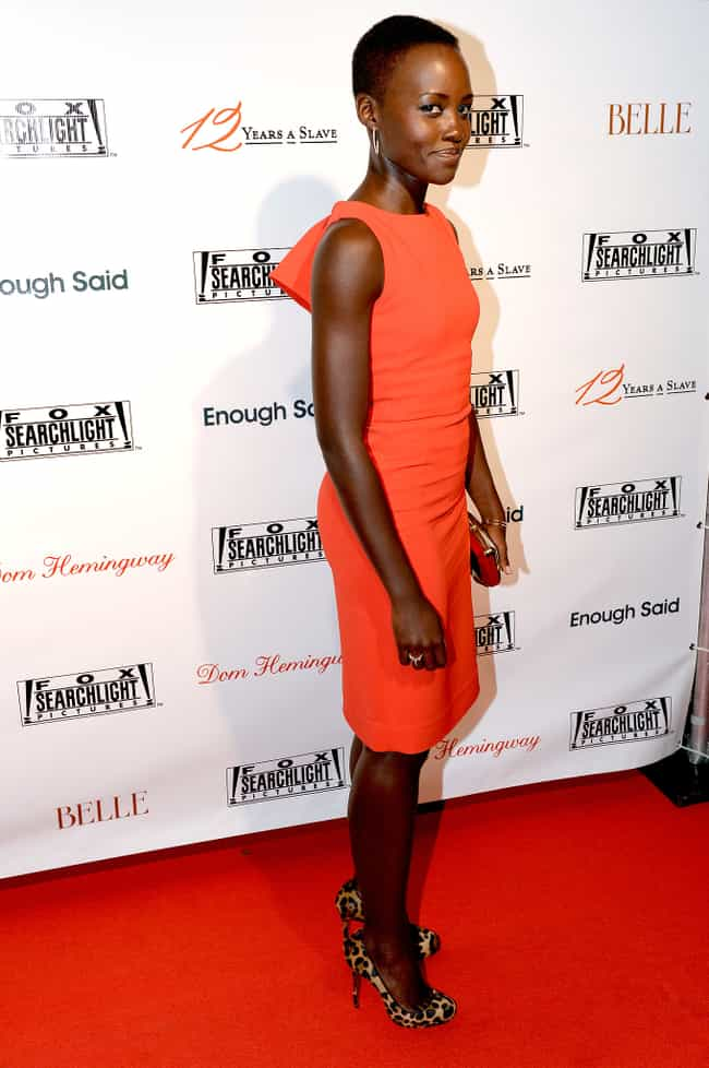 Totally Beautiful in Tangerine is listed (or ranked) 2 on the list Lupita Nyong'o's Best Looks in Every Color of the Rainbow