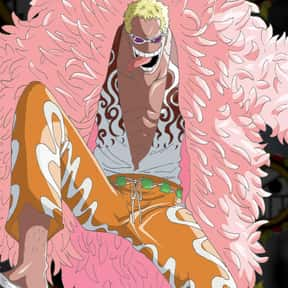 Donquixote Doflamingo is listed (or ranked) 2 on the list The Best One Piece Villains of All Time