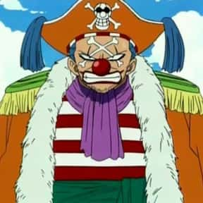 Buggy the Clown is listed (or ranked) 18 on the list The Best One Piece Villains of All Time